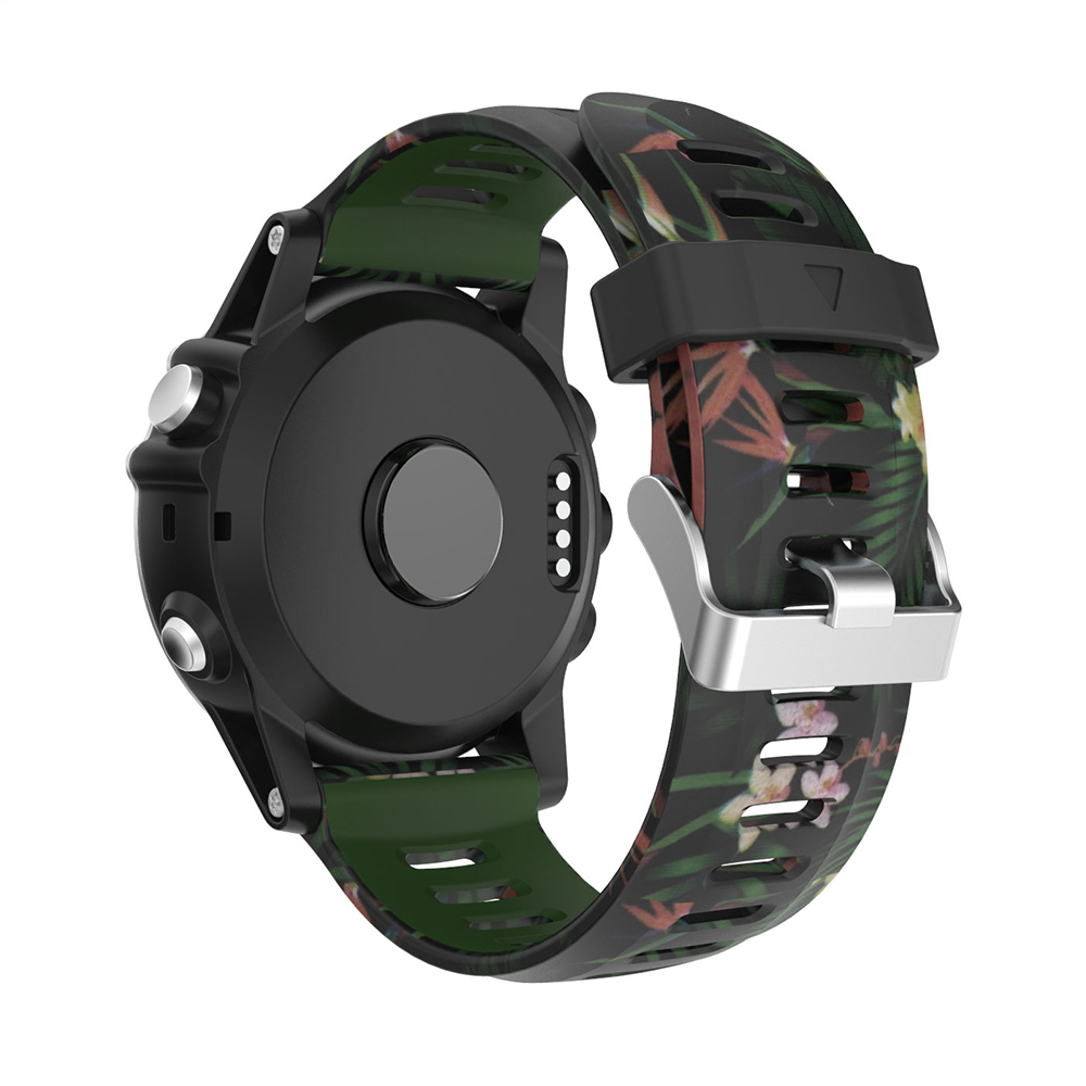 Silicone watchband for Garmin Fenix 5X 5X Plus replacement wristband classic sport watchstrap For Garmin Fenix 3 3HR watchbelt in Watchbands from Watches