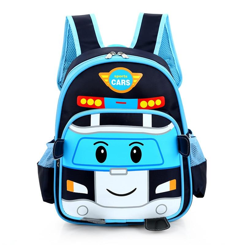 Kids baby bags children orthopedic school bags cartoon cars boys girls schoolbag kids book bag backpack