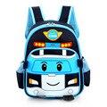 Los niños bolsas de bebé niños mochilas ortopédicos coches de la historieta niños niñas schoolbag niños mochila mochila para niños BB56
