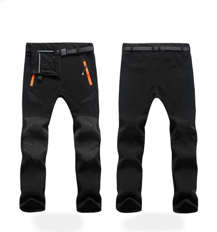 quente calças de esqui das mulheres polartec 4xl