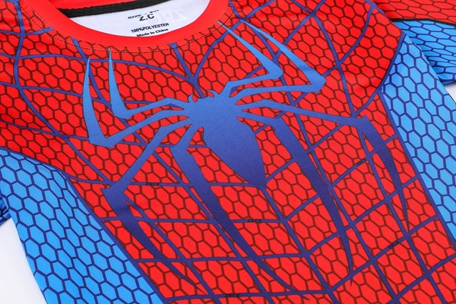Fitness Compression Shirt Spiderman