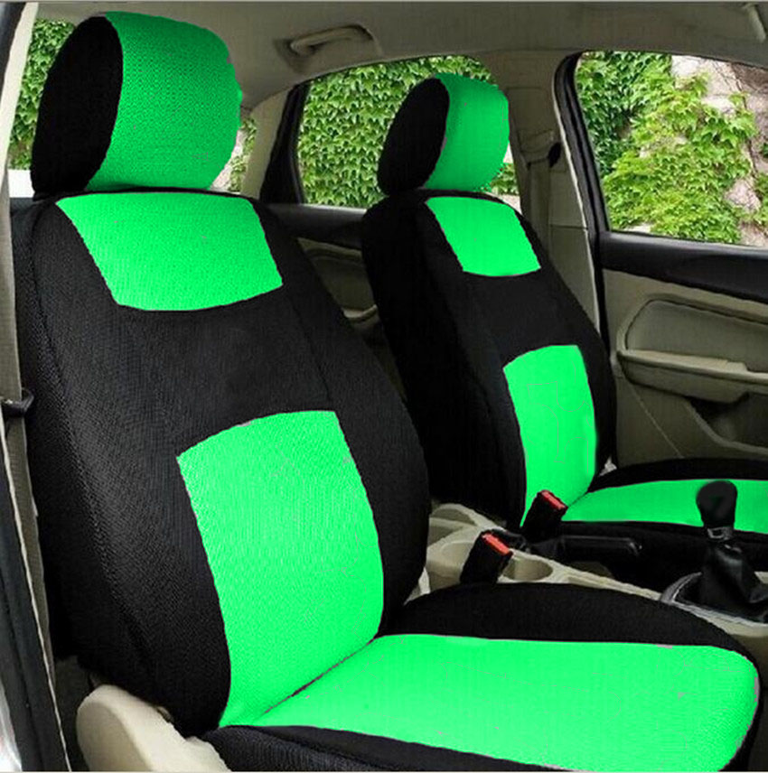 High Quality Car Seat Covers Universal Fit Polyester 3MM Composite Sponge Car Styling lada car cases seat cover accessories in Automobiles Seat Covers from Automobiles Motorcycles