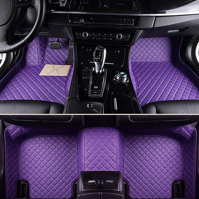 Custom Car Floor Mats For Honda Jazz Accord 2003 2017 Civic 2006 Fit City Crv
