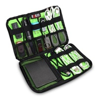 Cable Organizer Bag Zip Carry On Storage Bag For Cables USB Flash Drives Earphone