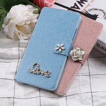 цена на Flip Silk Case for BQ Aquaris U Lite Plus U2 V Plus VS Fundas wallet style slots cover for BQ Aquaris UPlus VPlus capa Luxury