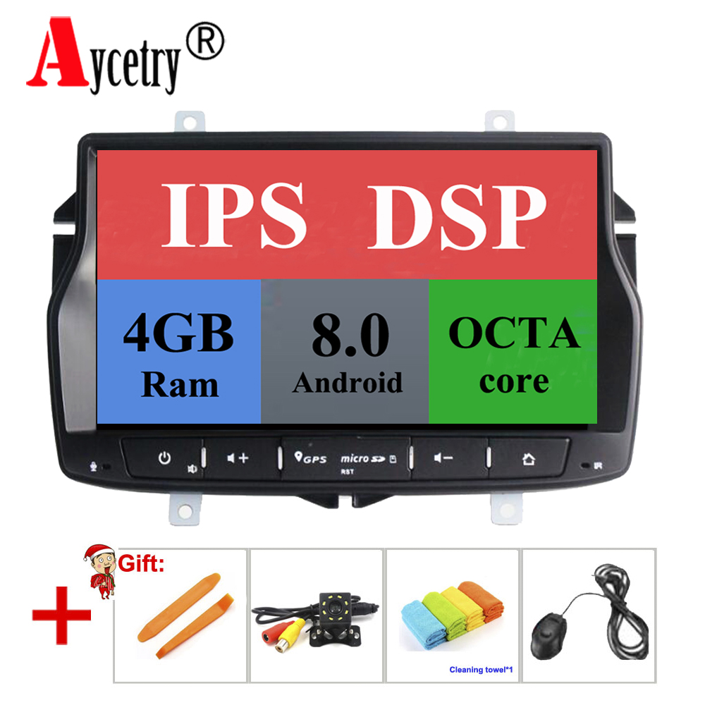 Aycetry! DSP! Android 8 0/8 1 2 din car multmedia player dvd