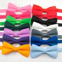 Men's classic satin bow tie with adjustable bow tie недорого
