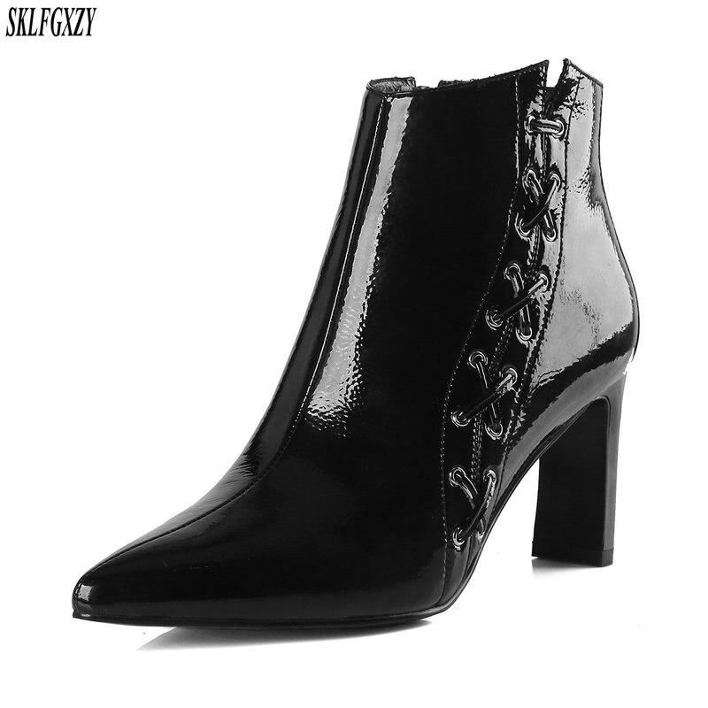 Femmes Haute Cm Mode 100 8 Chaussures Bottes Cuir Qualité En 08NwmnOv
