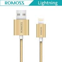 Orijinal Romoss CB13N USB Kablosu iphone 6 7 iPad iPod 2.1A Hızlı Cep Telefonu Veri Şarj Veri Kablosu için IOS