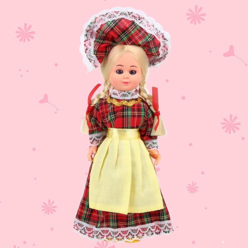 75Inch Baby Scotland Clothes Ethnic Dolls Girls Hot Mini -4130