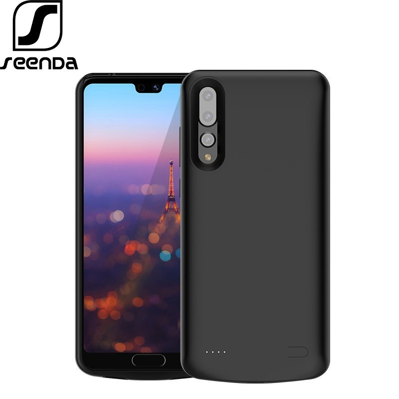 SeenDa 6000mAh Charger <font><b>Battery</b></font> <font><b>Case</b></font> for <font><b>Huawei</b></font> <font><b>P20</b></font> Pro High Capacity 4700mAh <font><b>Battery</b></font> Charger <font><b>Case</b></font> for <font><b>Huawei</b></font> <font><b>P20</b></font> Lite Nova 3 image
