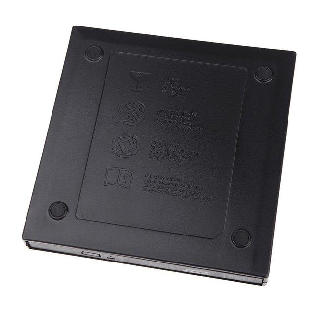 GTFS-USB 2.0 Externo de Slim Portátil Unidade de Disco Óptico para Notebook PC Laptop