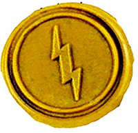 Vintage Lightning Custom Luxury Wax Seal Sealing Stamp Brass Peacock Metal Handle Sticks Melting Spoon Wood