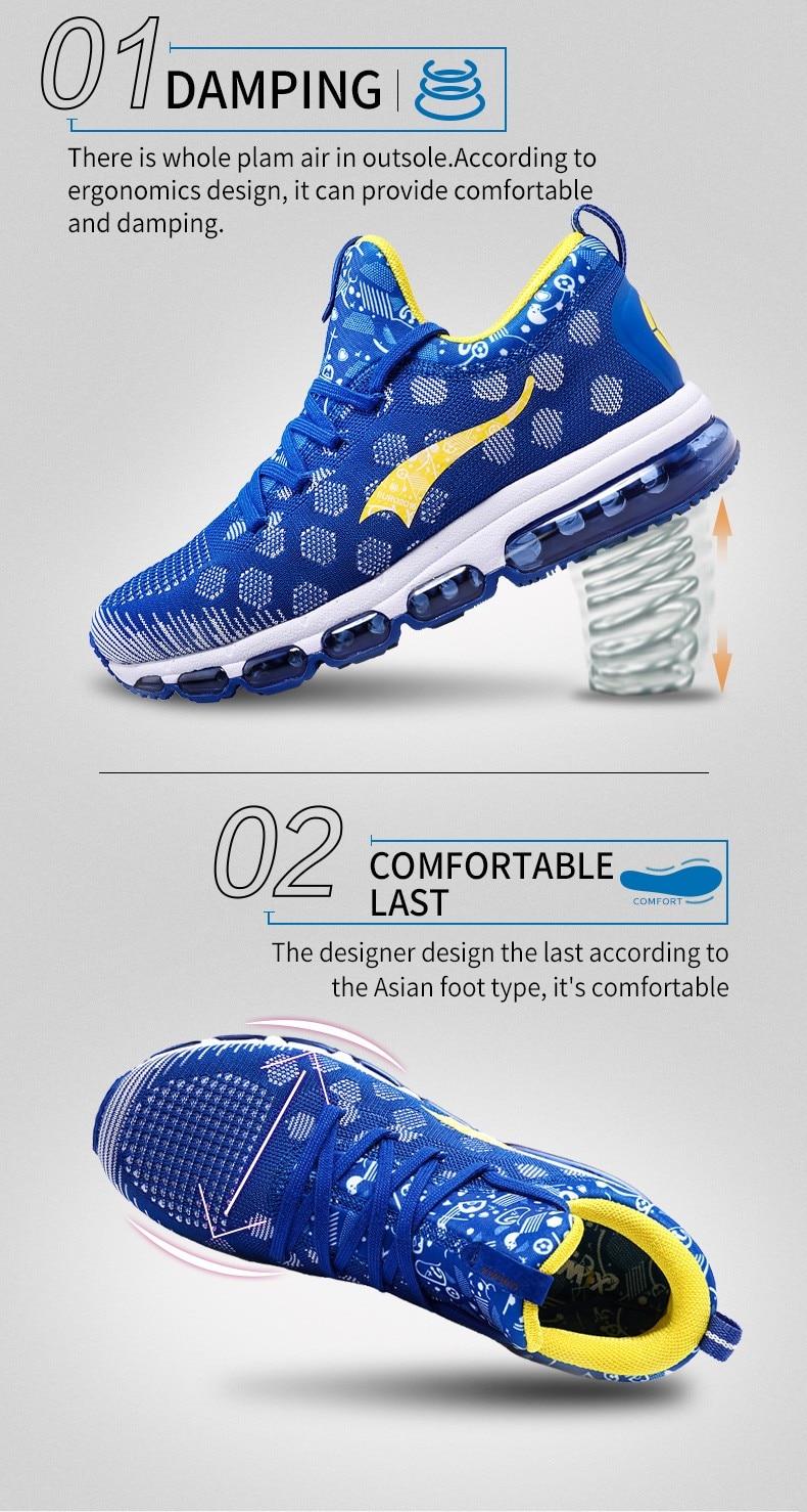 Onemix Running Shoes for men women's Sneakers Elastic Women Jogging Shoes Black Trainers Sport Shoes for outdoor jogging walking 11