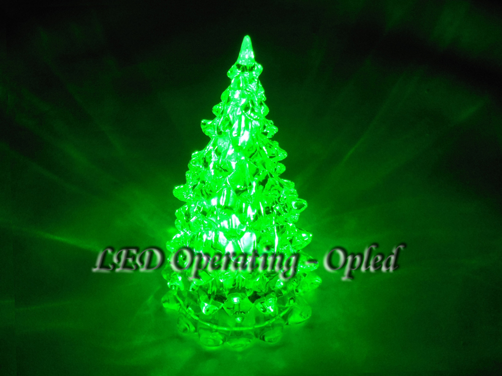 pmma christmas tree light led christmas tree lamp greenbluepurplewhite - Blinking Led Christmas Lights