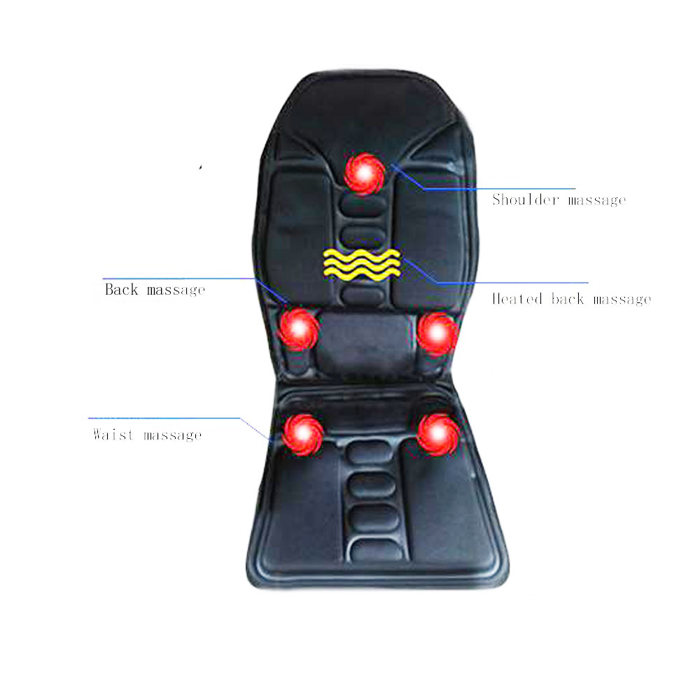 Household&Car Use Massage Pad Back massager cushion heated car massage cushion can be used