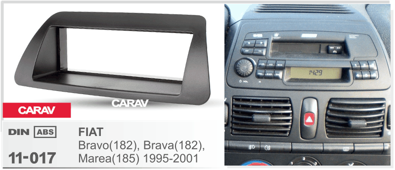 radio cd player CARAV 11-017 Car Radio Installation Trim Fascia Panel