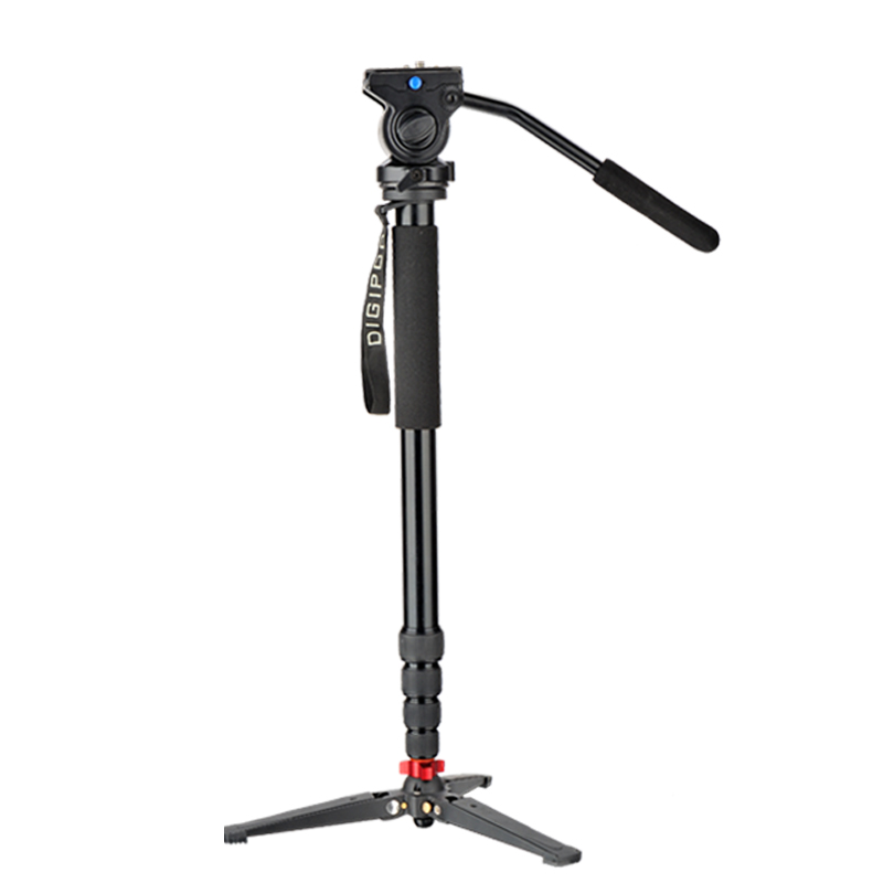 DIGIPOD Alumini Profesionale 80inch Fluid Video Monopod me Kreu Video - Kamera dhe foto