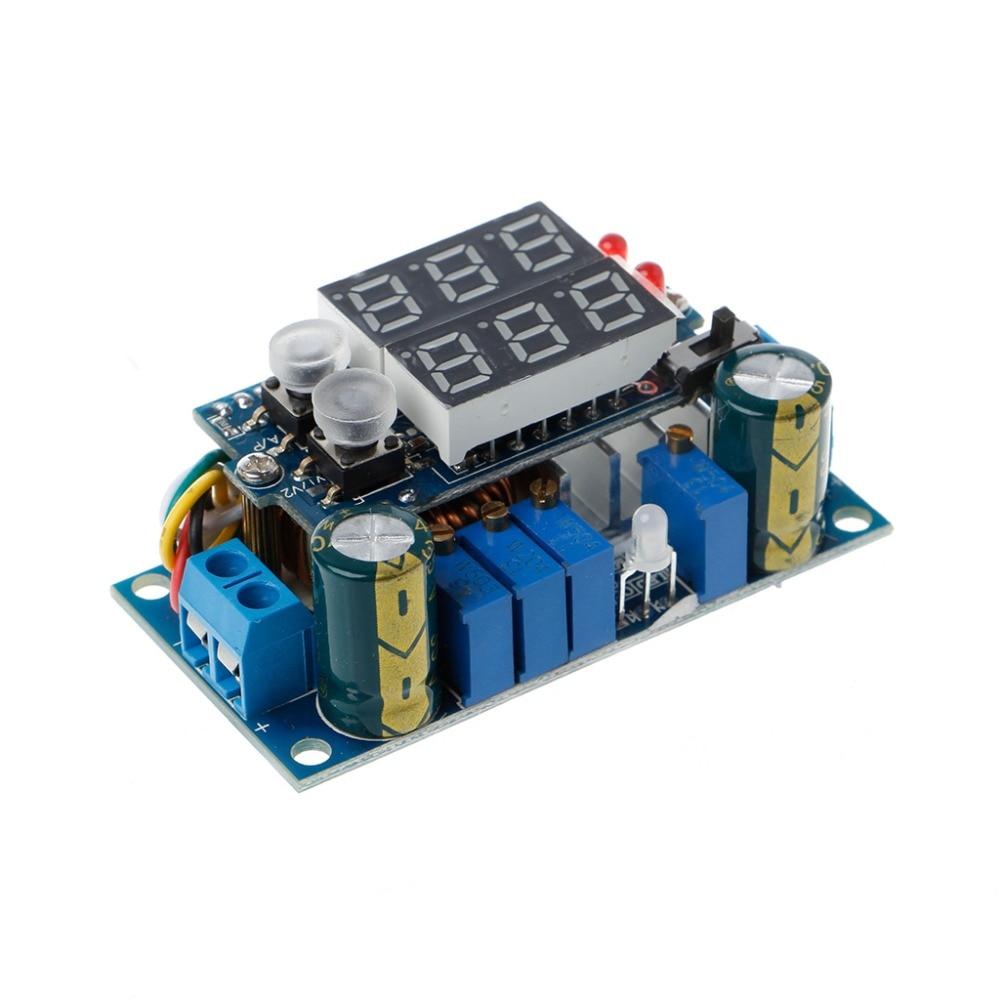 5A MPPT Solar Panel Controller DC-DC Schritt-unten CC/CV Lade Modul Display LED Regler Controller