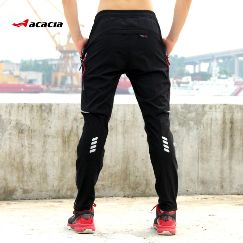 7fa2716c40fc ACACIA Spring Autumn Summer Pants Bicycle Pants Trousers Cool Breathable  Sportswear Bike Long Pants Fitness Sport Clothing 02998-in Cycling Pants  from ...