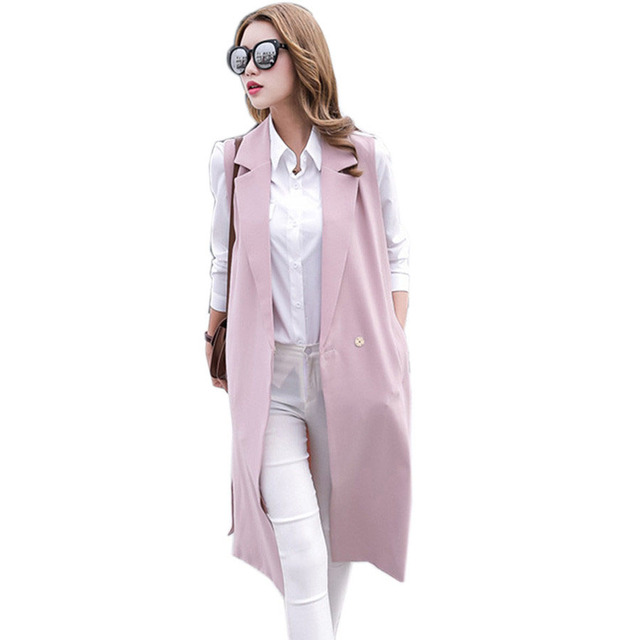 Veste printemps rose pale