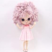 Ледяной обнаженный завод Blyth кукла No. BL1049/2352 фиолетовый микс розовые афро волосы тело белая кожа Neo 1/6 bjd