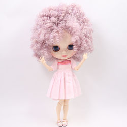 ICY DBS Blyth doll No.BL1049/2352 Purple mix Pink Afro hair JOINT body White skin Neo 1/6 bjd