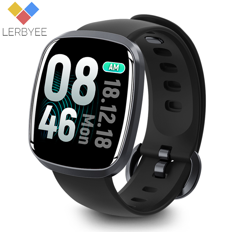 Lerbyee Smart Watch Waterproof GT103 Blood Pressure Fitness Tracker Sleep Monitor Music Control Full Screen Touch for iPhone y5 goral