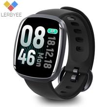Купить с кэшбэком Lerbyee Smart Watch Waterproof GT103 Blood Pressure Fitness Tracker Sleep Monitor Music Control Full Screen Touch for iPhone