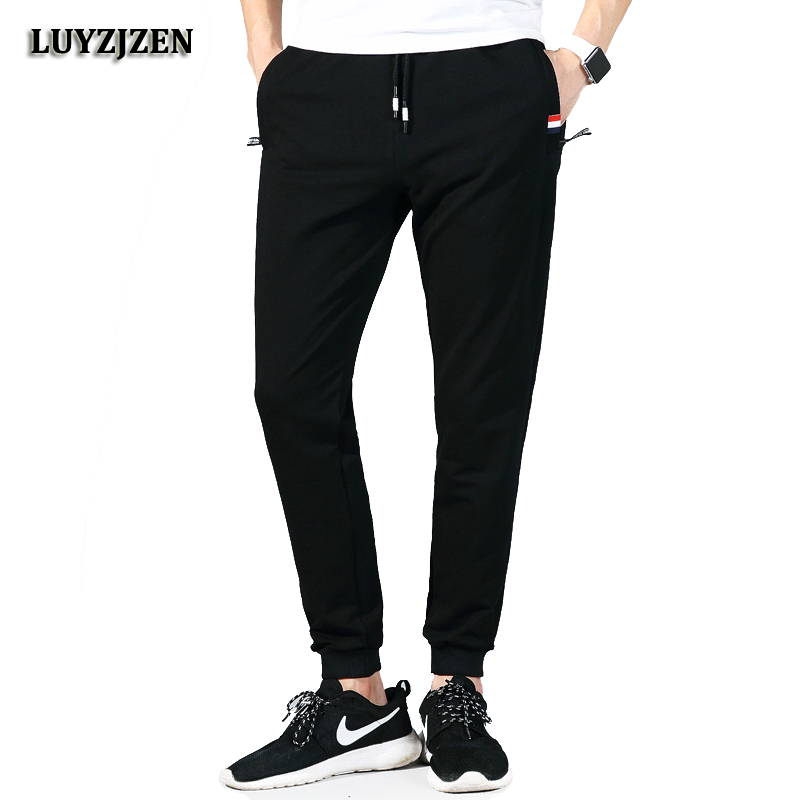 Men's Sweatpants New Autumn Winter Joggers Pants Elastic Waist Loose Cotton Sweatpant For Men Casual Trousers Homme Big Size 619(China)