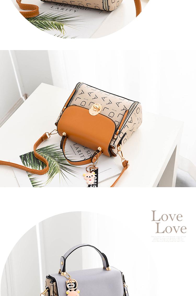 Popular Woman Handbags Fashion Leather Messenger Bag Trendy new one-shoulder diagonal small square bag Bolsa Feminina louis gg 60
