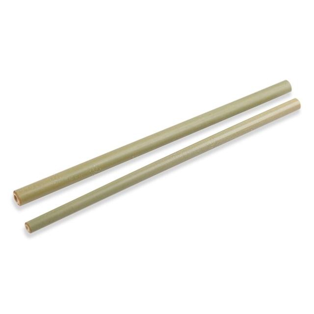 Reusable Eco-Friendly Bamboo Drinking Straws 12 Pcs Set