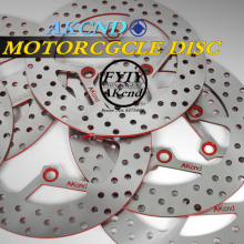 AKCND Universal Motorcycle Scooter cnc Brake Disc Disks 220*70mm For yamaha honda  pcx dio rx125 mojet kymco G3/G4/G5 Moto Bike motorcycle scooter brake disc disk rotor 260mm with gasket make it 3 hole 70mm hole to hole for yamaha scooter cygnus modify