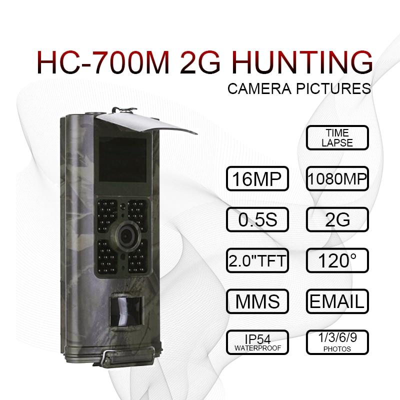 16MP 2G 3G SMS Hunting Camera hc700m hc700g MMS Outdoor Trail Camera game Night Vision Hunter