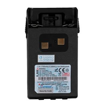 Original Wouxun Battery 1700mAh Li-ion battery for KG-UVD1P KG-UV6D Walkie Talkie KG-833 KG-679P KG-669P two way radio Accessory цена 2017