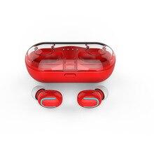 Fone de ouvido Fones De Ouvido Bluetooth 5.0 Fone De Ouvido sem fio Invisível TWS Bilateral Chamadas Estéreo Vagens de Ar Caixa de Microfone para o Telefone de Carregamento