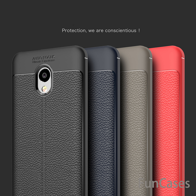 For Meizu M5 Note Case 5.5 inch Luxury Shockproof Soft TPU Leather Design Case For Meizu M6 Note Back Cover Cases M5 M6 Note image
