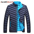 2017 New Mens Parka Coat White Duck Down Jackets And Coats Winter Fashion Warm Outwear Ultra Light Duck Down Jacket Men Coats