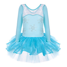 2017 Ballet Dress for Children Dance Leotard Tulle Dress Suspender Clothing Wear Leotard Ballet Tutu Costume Gymnastics Leotard