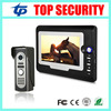 Good Quality 7 Video Door Phone Intercom System Waterproof Out Door Camera Door Access Control Village