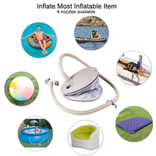 foot pump air pump for inflatable item boat fishing boat kayak sup board paddle board air mattress inflatabl boat bed