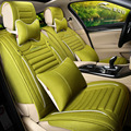 2016 Limited Green Car Seat Cover For Elegant Women Decorating And Protecting Leather Free Shipping Mats