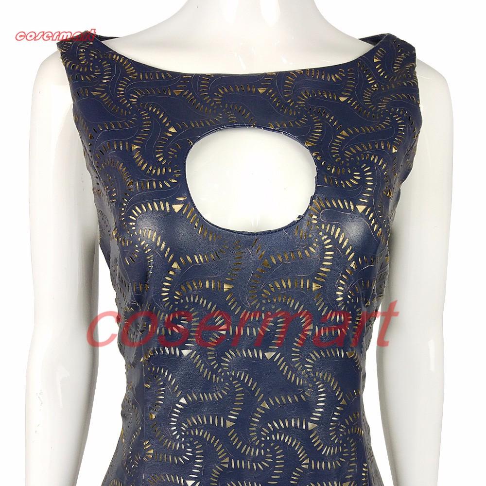 The Game Of Thrones Dress Cosplay Daenerys Targaryen Qarth Dress Leather Costume Halloween Party Prop (5)