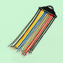 12Pcs Glasses String Mix Colors Nylon Cord Eyeglass Holder Sunglass Eyewear Glas