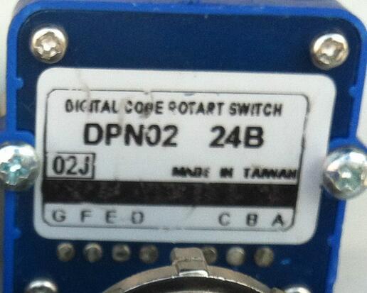 TOSOKU magnification machine tool Band switch  DPN-02J-24B DPN 02J 24B CNC panel knob switch  цены