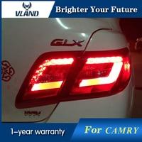 Светодиодный задние фонари для Toyota Camry 2006 2007 2008 2009 2010 20011 сзади лампы красный дым светодиодный задние фонари