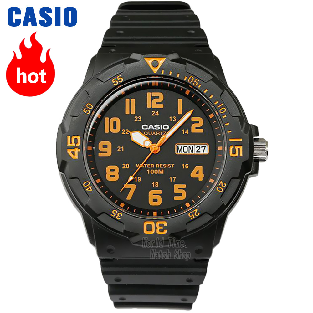 Casio watch Analogue Men's Quartz Sports Watch Fashion Trends Waterproof MRW-200 clearaudio professional analogue toolkit