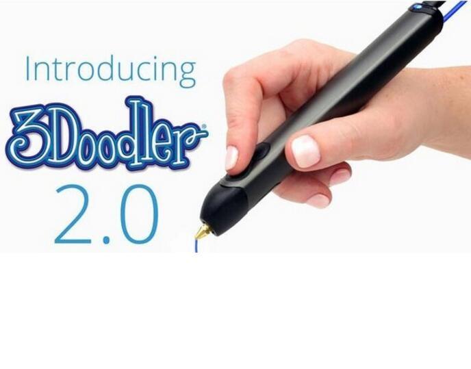 FREE SHIPPING KicNkstarter 3doodler 2.0 3d printer pen