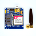 Adeept New SIM900A Kit Wireless Extension Module GSM GPRS Board Antenna Tested HC Freeshipping headphones diy diykit