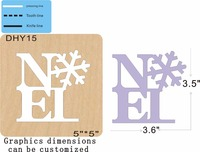 Snowflake alphabet new wooden mould cutting dies for scrapbooking Thickness 15.8mm